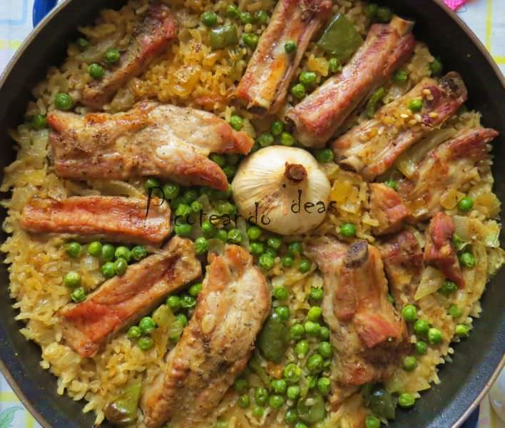 Arroz con Costillas al Horno