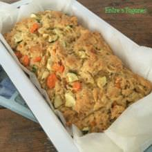 Cake de Pollo con Zanahoria y Calabacín