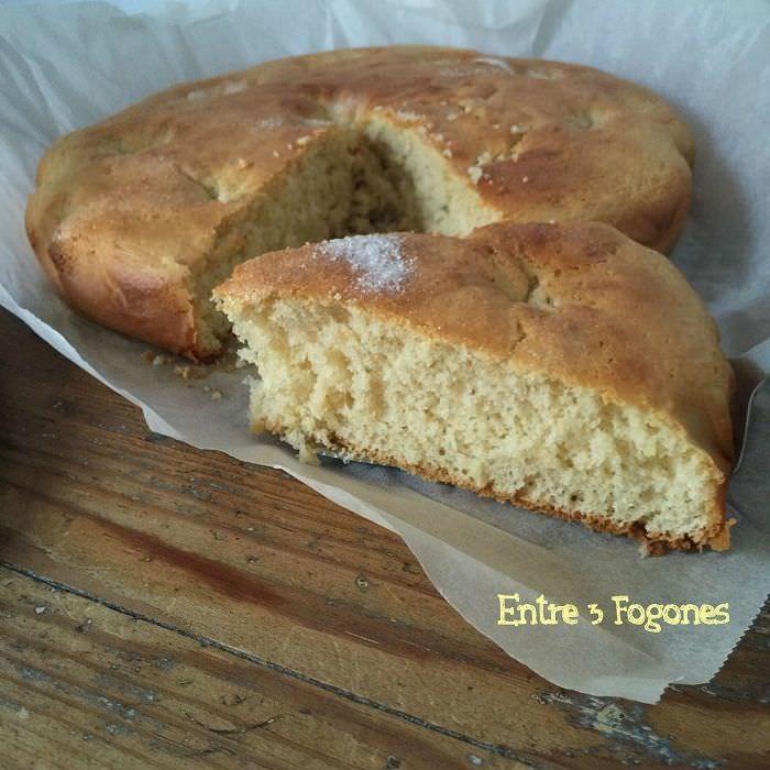 Torta de Azúcar, Vainilla y Limón
