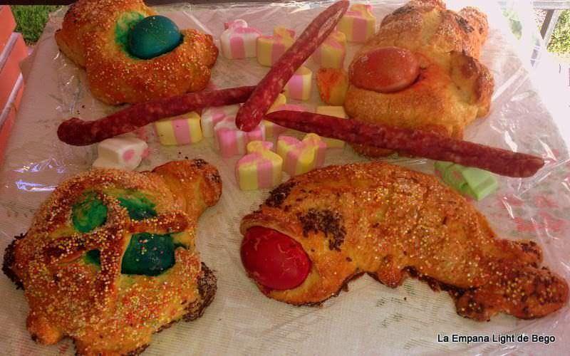 Monas de Pascua con Masa de Roscón