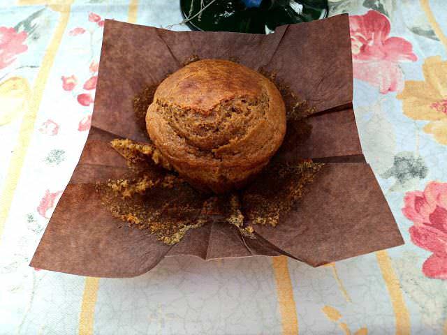 Muffins de Calabaza y Plátano