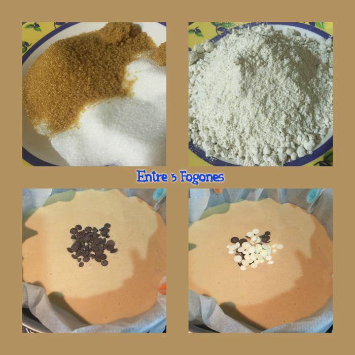 Pasos Bizcocho de Avena y Chocolate