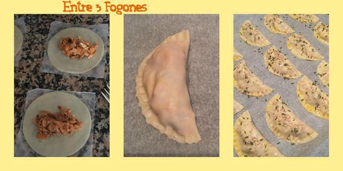 Pasos Empanadillas de Mejillones con Échalote