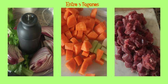 Pasos Tagliatelle de espinacas en salsa con ternera gallega