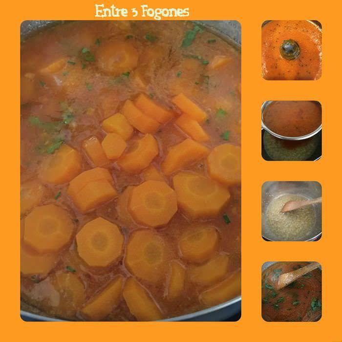 Zanahorias en salsa de Higos Chumbos