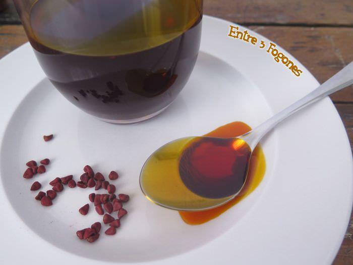 Aceite de Achiote