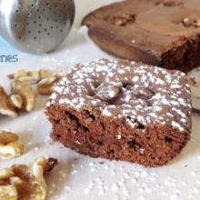 Brownie de Chocolate Puro y Nueces
