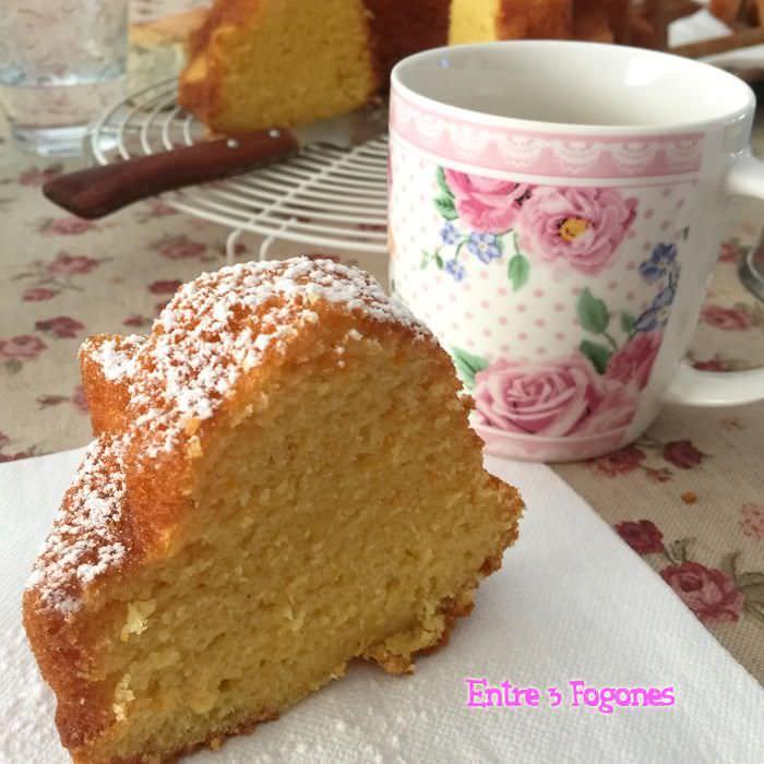 Bundt Cake de Nata y Naranja