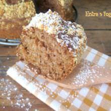 Cake de Coulis de Fresas y Nueces de Macadamia