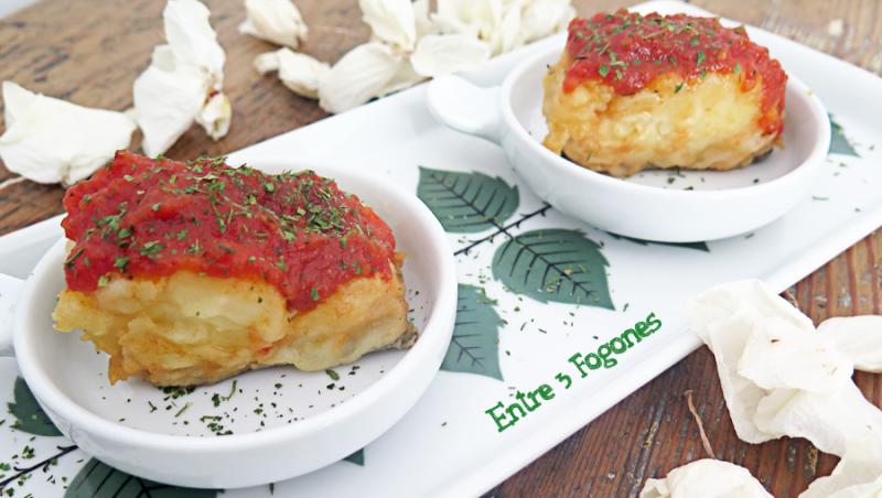 Lomos de Bacalao con Salsa de Tomate Casera