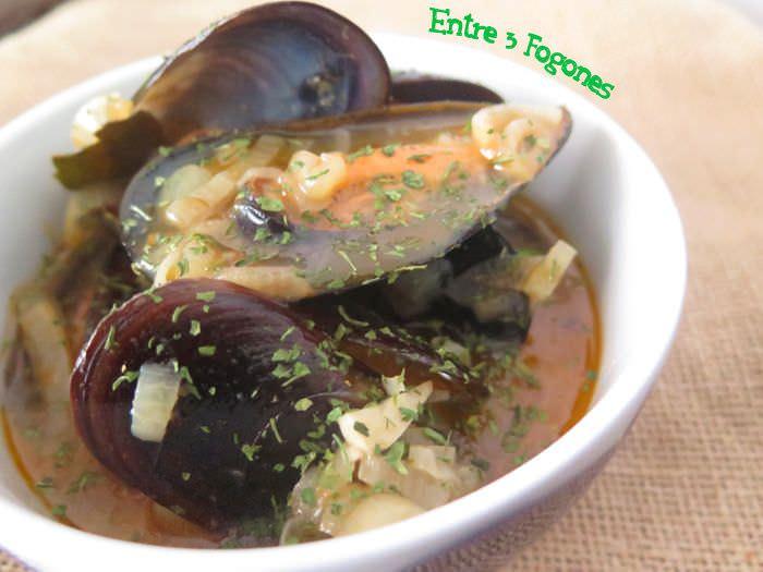 Receta Mejillones en Salsa de Pimentón y Échalote
