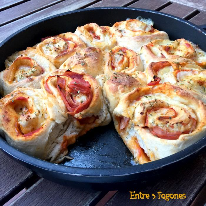 Receta Pizza Roll