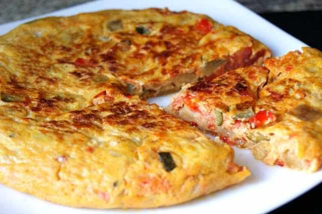 Tortilla de Samfaina