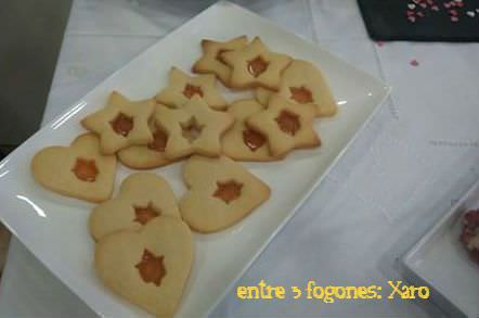 Galletas decoradas con caramelo