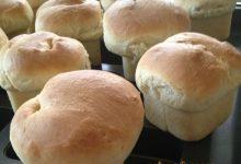 Muffins de Pan con Grasa de Pato y Mantequilla Salada