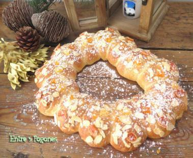 Roscón de Reyes con Frutas Deshidratadas