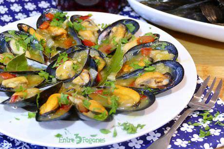 Receta Mejillones en Salsa Picante