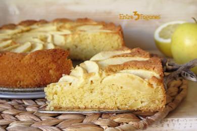 Bizcocho de Manzana Golden al Calvados