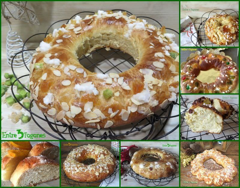 Roscones de Reyes Fáciles