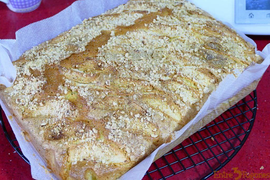 Bizcocho de Manzana y Avellanas Esponjoso
