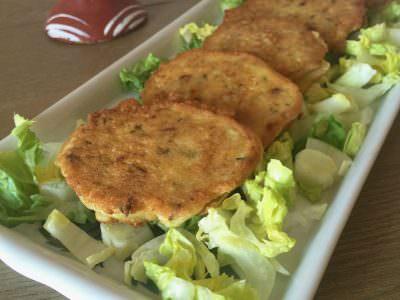 Tortillas de Calabacín con Tomates Secos y Apio