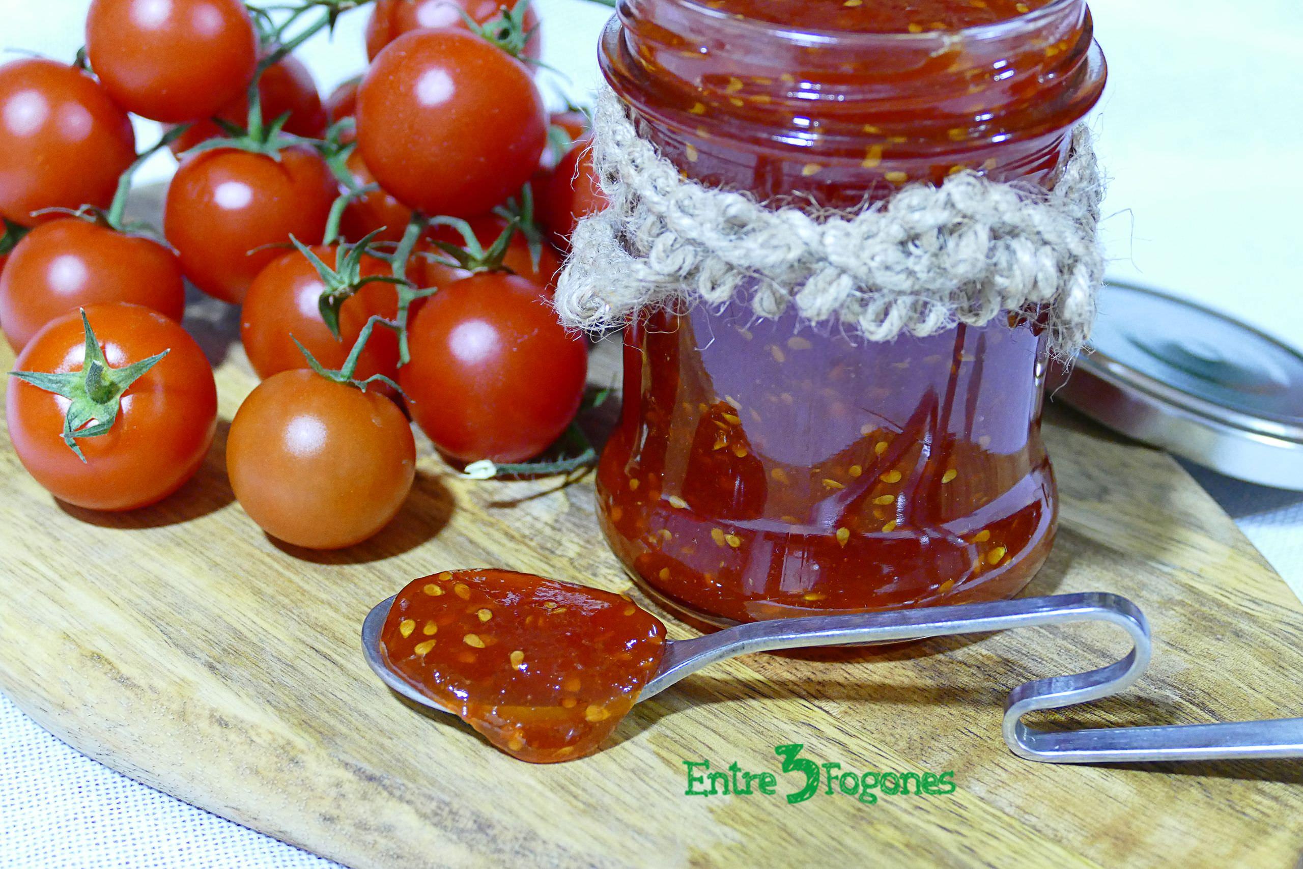 Receta Mermelada de Tomate Casera
