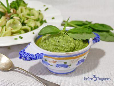 Pesto de Brócoli y Anchoas
