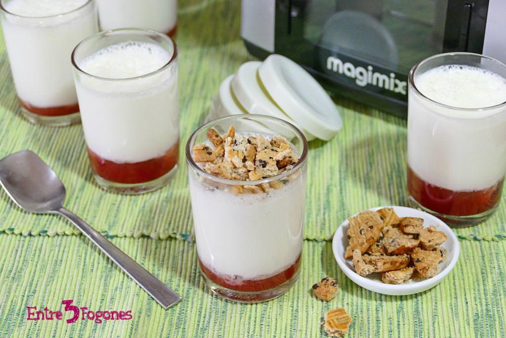 Yogur Griego Natural con Cook Expert Magimix