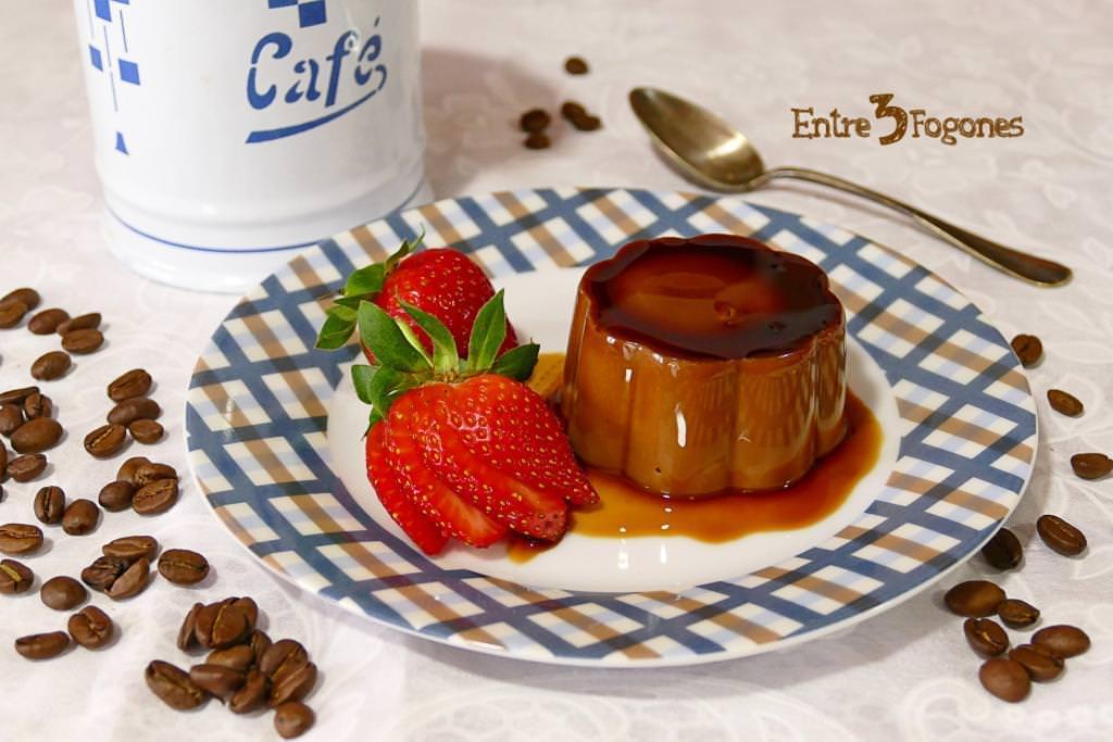 Flan de Café y Chocolate sin Horno