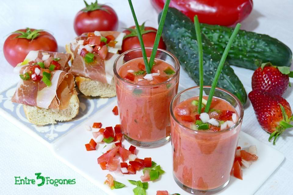 Gazpacho de Fresas Cook Expert Magimix