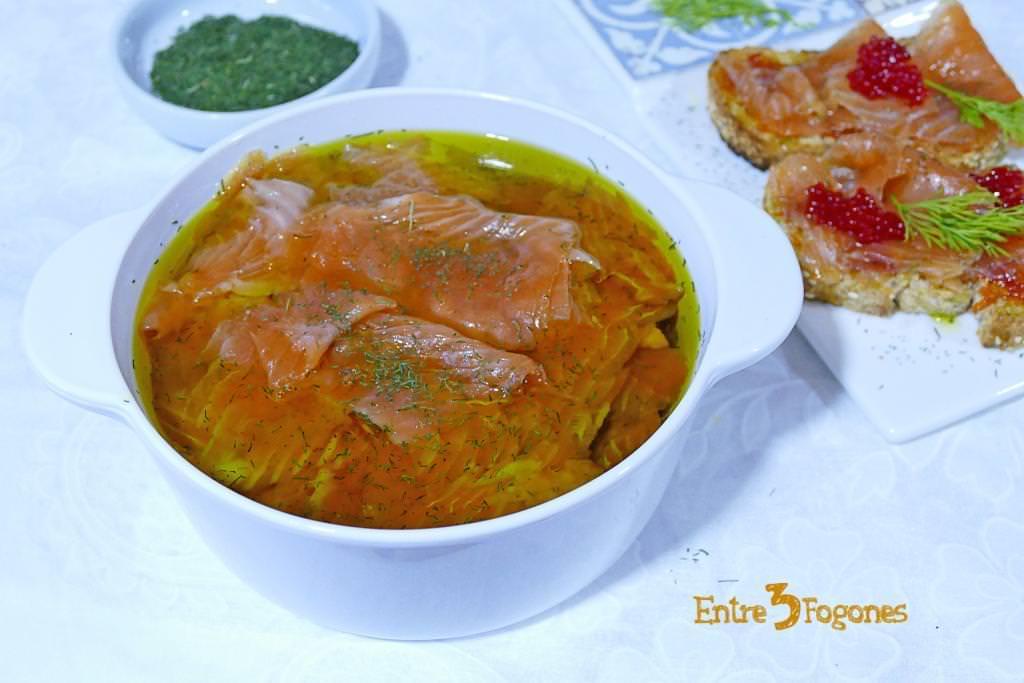 Trucha Marinada