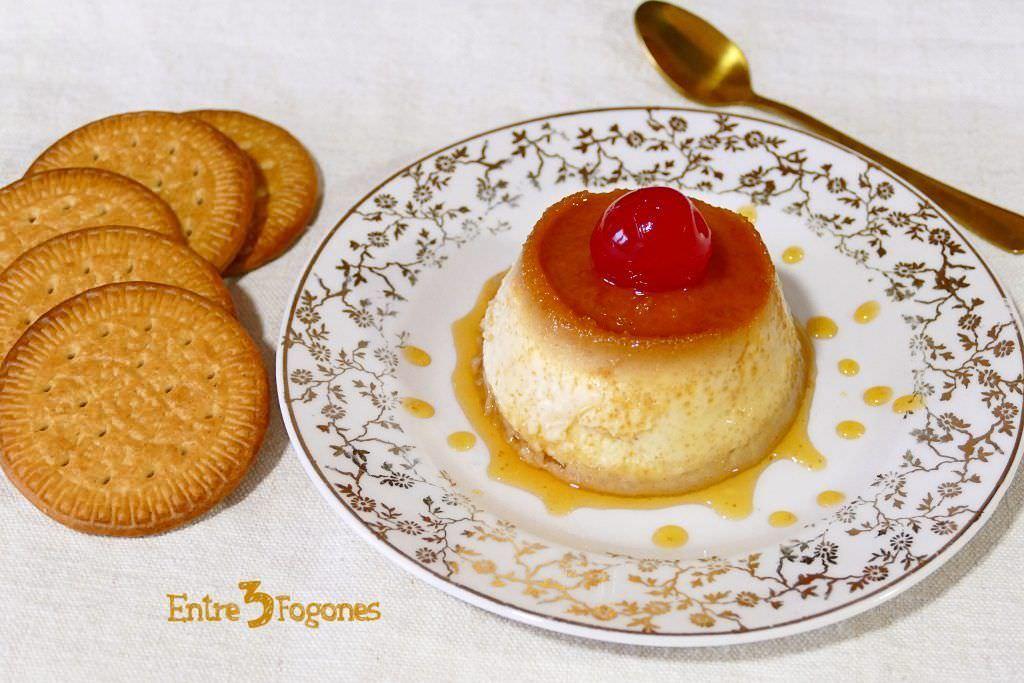 Flan de Huevo con Galletas María en CookExpert