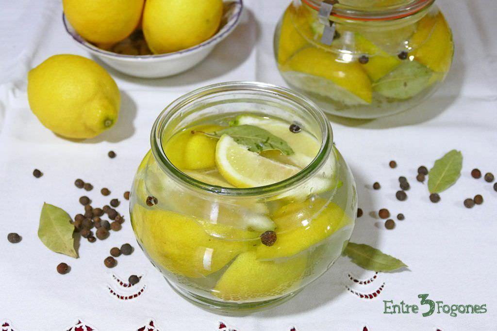 Limones Confitados al estilo Marroquí