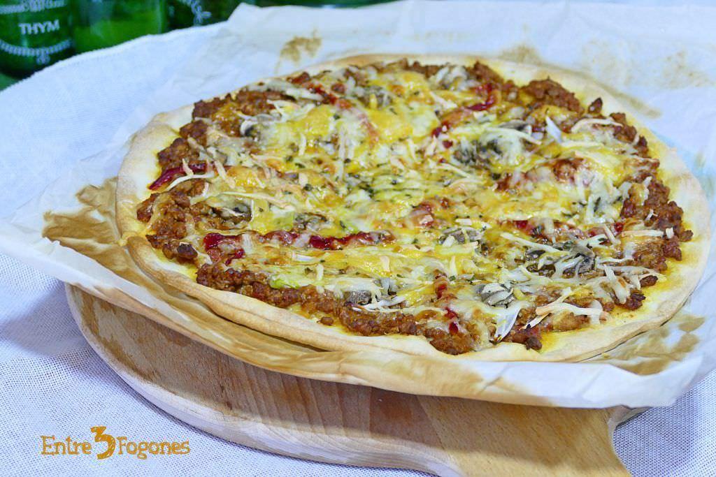 Pizza de Boloñesa