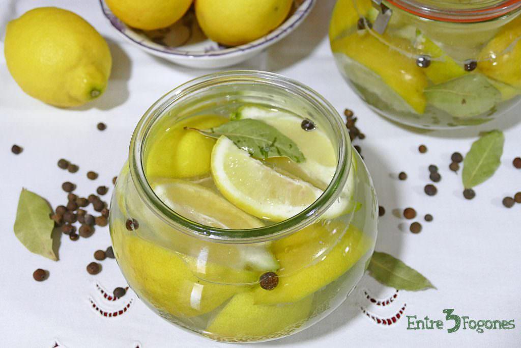 Receta Limones Confitados al estilo Marroquí