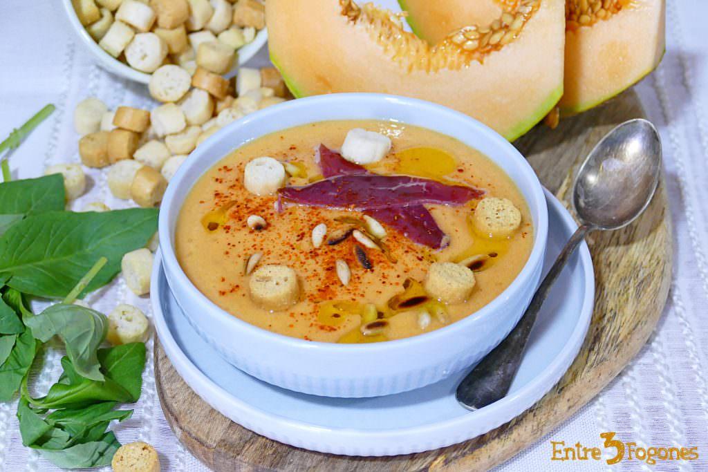 Sopa de Melón con Tomate