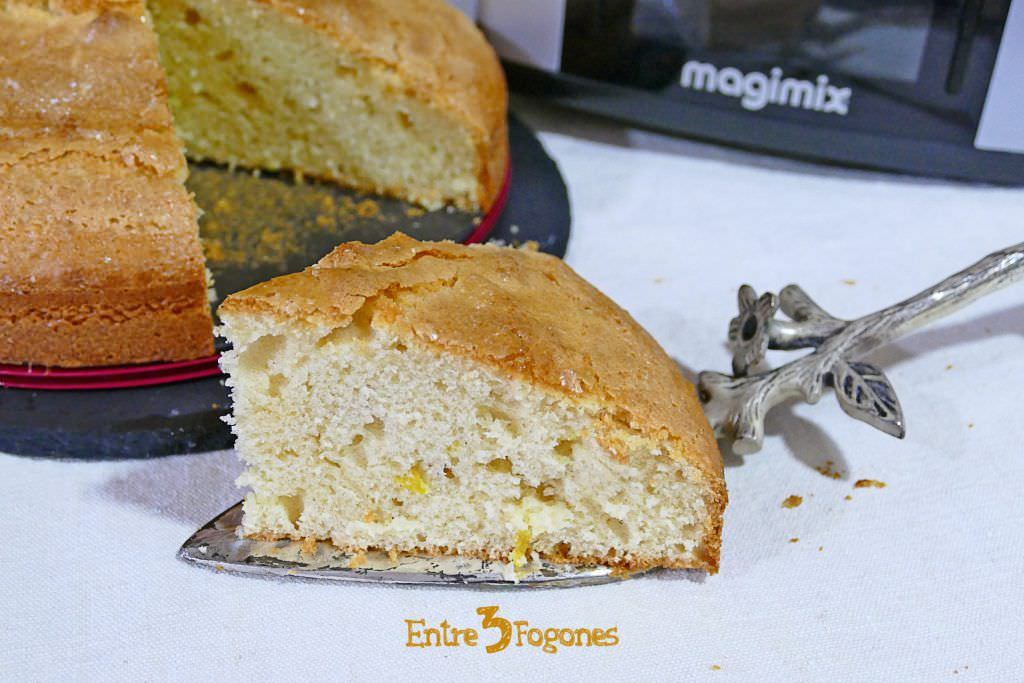 Bizcocho con Yogur de Cabra y Limón en CookExpert
