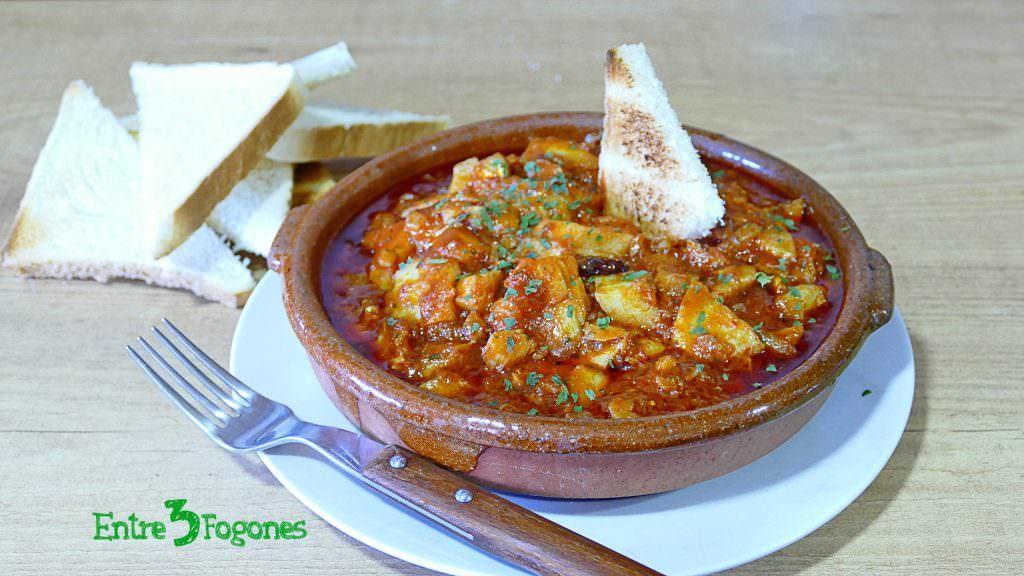 Receta Bacalao al Ajoarriero con Pimiento Choricero
