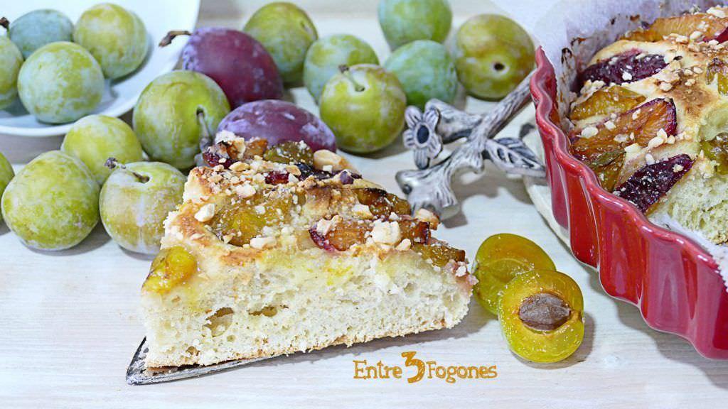 Receta Pan de Brioche Dulce con Ciruelas