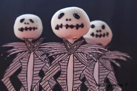 Cake Pops de Jack Skeleton
