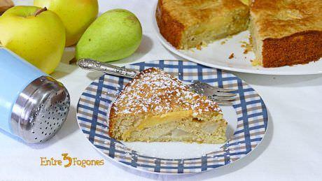 Pastel de Pera y Manzana