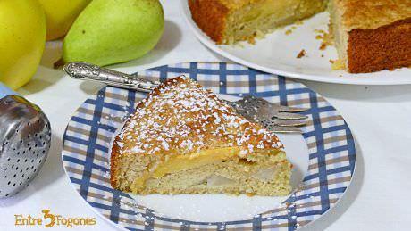 Pastel de Pera y Manzana en Thermomix