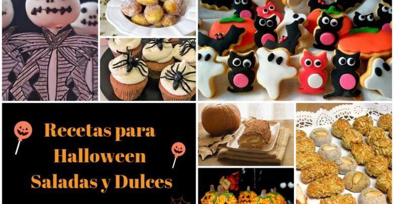 Recetas para Halloween Saladas y Dulces