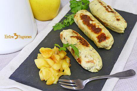 Boudin Blanc Maison aux Pommes au Thermomix
