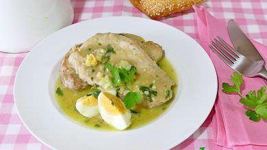 Lomo de Cerdo en Salsa de Almendras