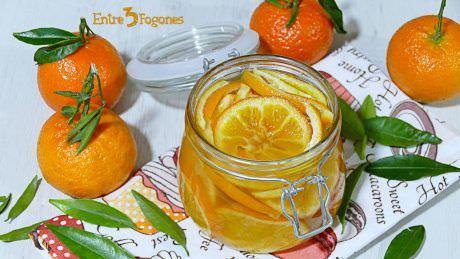 Mandarinas o Naranjas Confitadas