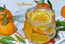 Receta Mandarinas Confitadas