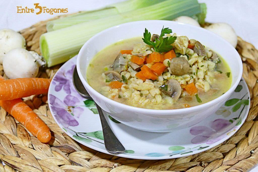 Sopa Irlandesa de Verduras