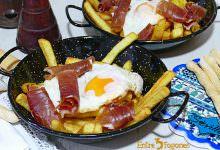 Photo of Huevos Rotos o Huevos Estrellados con Patatas y Jamón