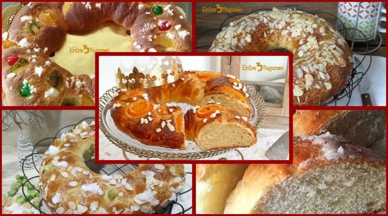 Recetas de Roscón de Reyes en Thermomix